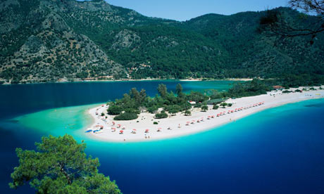 Oludeniz is a very popular resort, but large enough to accommodate the
